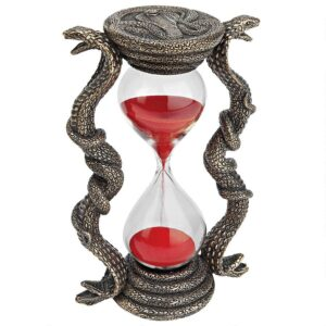 """Egyptian Cobra Goddess"" Sandtimer Hourglass"