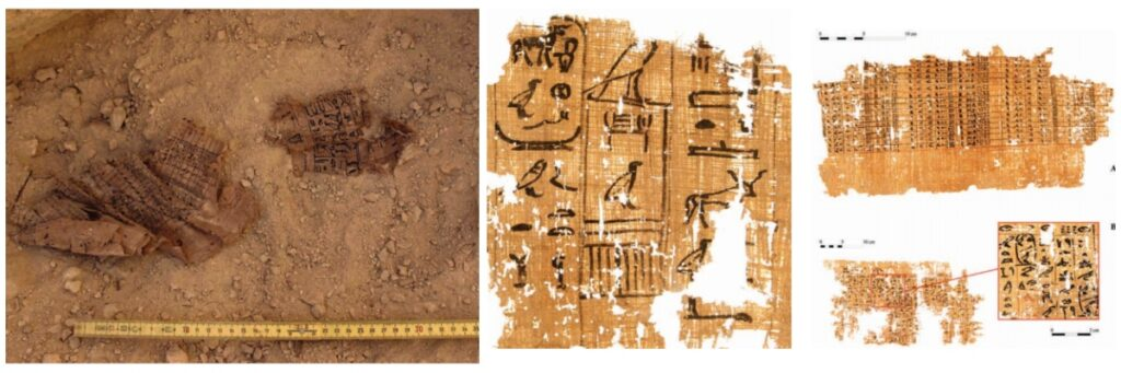 Oldest papyrus in the world